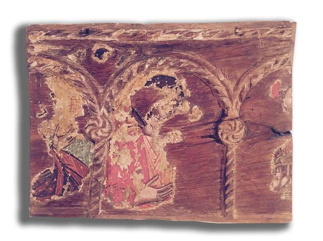 Εικόνα Βάπτισης Μονής Βισόκου - Πϊσω