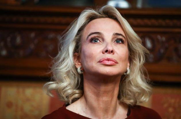 Corinna Larsen, fotografiada el 1 de febrero de 2019 en Moscú, Rusia (Valery Sharifulin\TASS via...