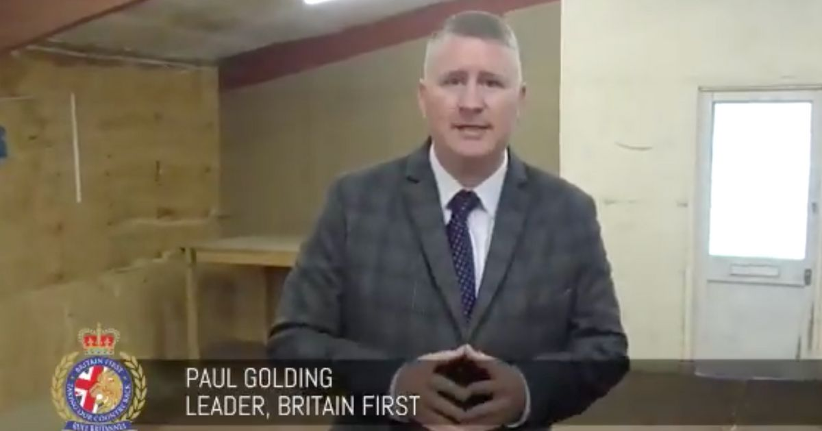 Britain First Is Setting Up A 'Training Centre' In London
