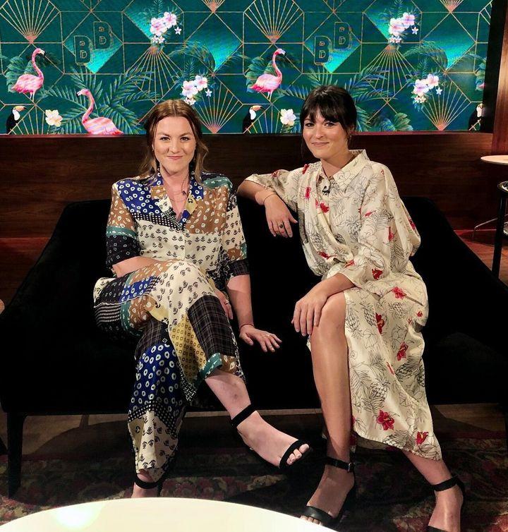 Stéphanie et Mélanie Boulay à «Bonsoir bonsoir».
