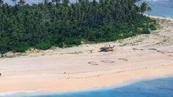 Trois naufragés sauvés par leur «SOS» écrit sur la
