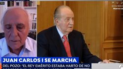 El periodista Raúl del Pozo desvela la llamada que le ha hecho Juan Carlos I: