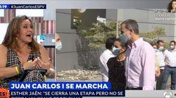 Esther Jaén, amiga de Letizia, apunta que la marcha de Juan Carlos I no es como cuentan: