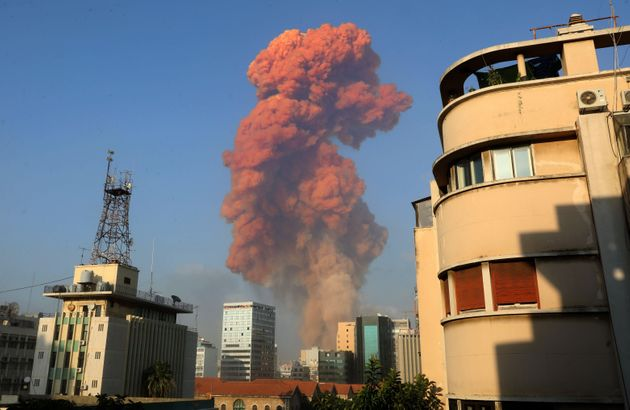A large explosion rocked the Lebanese capital Beirut on Tuesday. The blast, which rattled entire buildings...