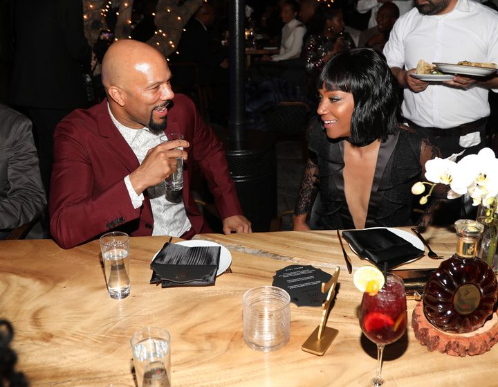 """Tiffany Haddish said Common was full of compliments for her new bald look, telling her she looked """"so beautiful."""""""