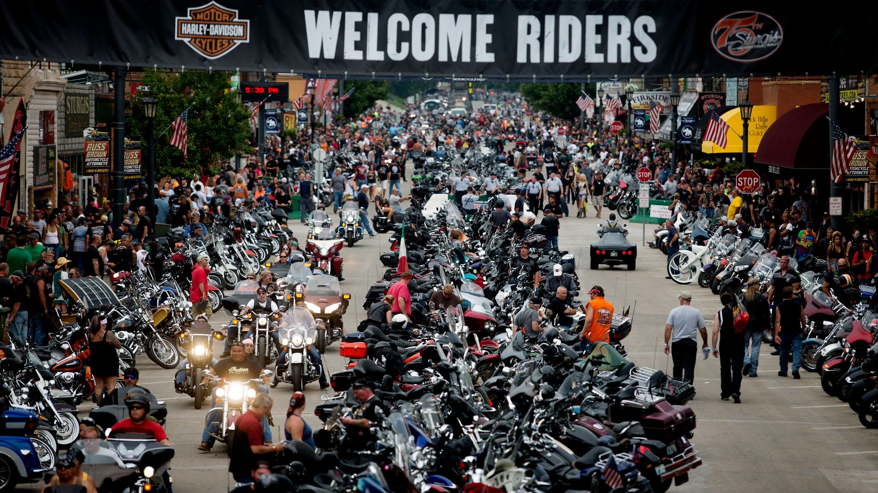 250,000 Bikers To Attend South Dakota's Sturgis Motorcycle Rally Despite COVID-19