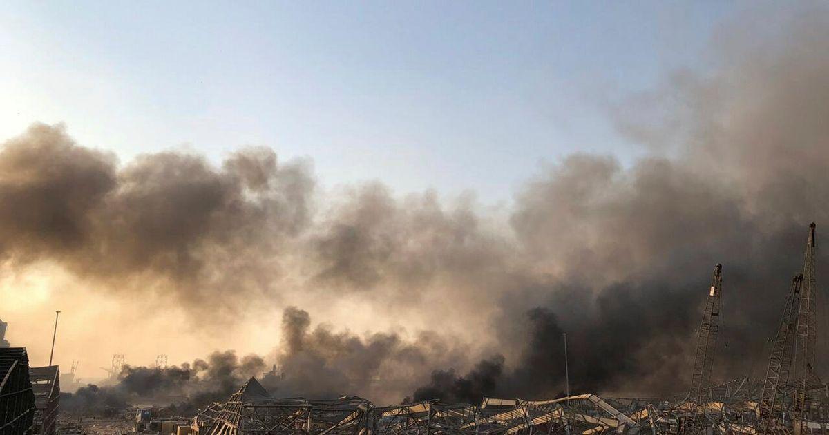 Huge Explosion In Beirut Shakes Lebanon's Capital