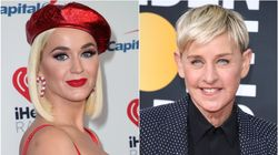 Katy Perry Defends Ellen DeGeneres Against 'Toxic' Workplace