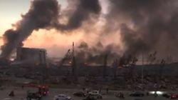EN DIRECTO: Incendios en el puerto de Líbano tras la