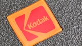 FILE - In this Jan. 25, 2011 file photo, a Kodak logo is shown on a slide projector in Philadelphia. Embattled photography pioneer Eastman Kodak Co. is nearing the end of a high-stakes patent-infringement fight Thursday, June 30, 2011, with tech giants Apple and Research in Motion Ltd. (AP Photo/Matt Rourke, file)
