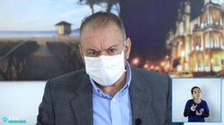 O dia em que o prefeito de Itajaí sugeriu tratar covid-19 com aplicação de ozônio via