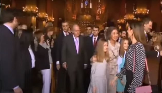El rifirrafe entre Letizia y Sofía en