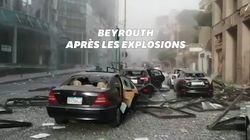 Ces images des rues de Beyrouth montrent bien la violence des