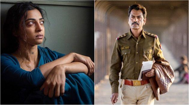 Radhika Apte and Nawazuddin Siddiqui in 'Raat Akeli Hai', streaming on