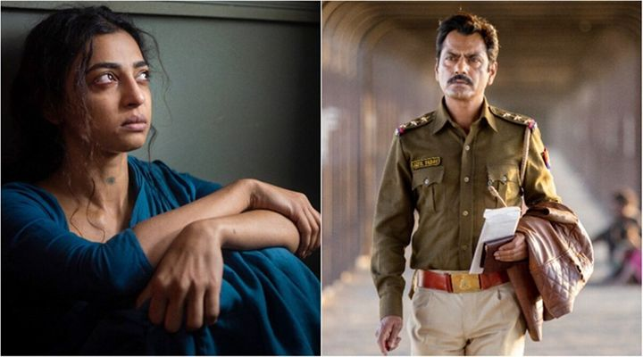 Radhika Apte and Nawazuddin Siddiqui in 'Raat Akeli Hai', streaming on Netflix.