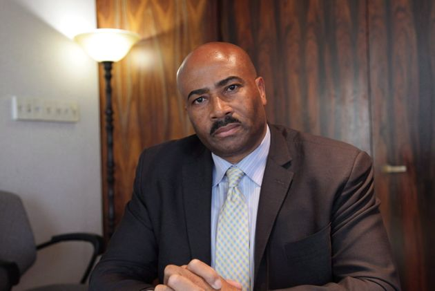 Senator Don Meredith seen during an interview in Toronto on March 16,