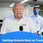 Doug Ford Defends Ontario's Back-To-School