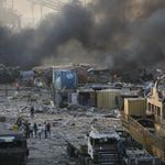 Des milliers de tonnes de nitrate d'ammonium à l'origine des explosions à