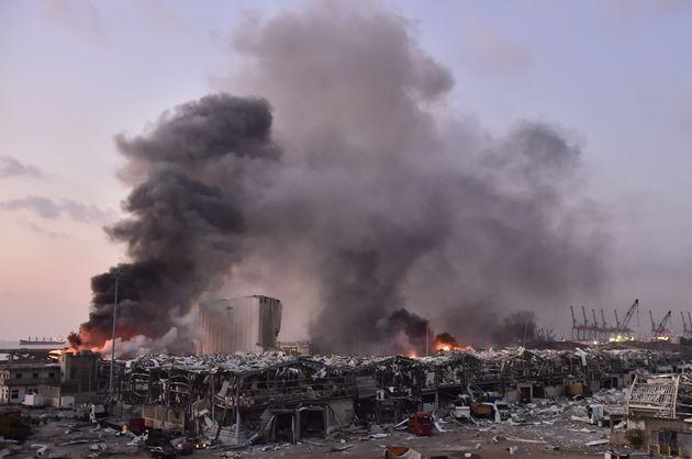 レバノン・ベイルートで起きた爆発(2020年8月4日)