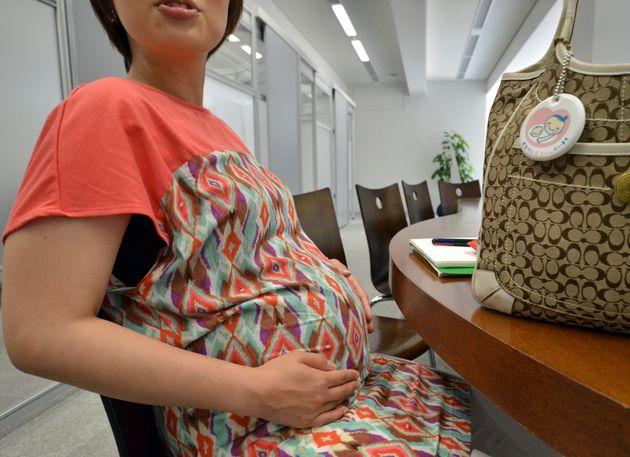 妊娠中の女性