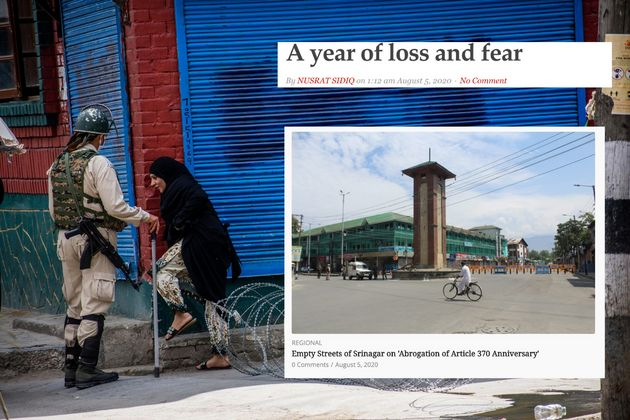 Kashmir, a year after abrogation of Article
