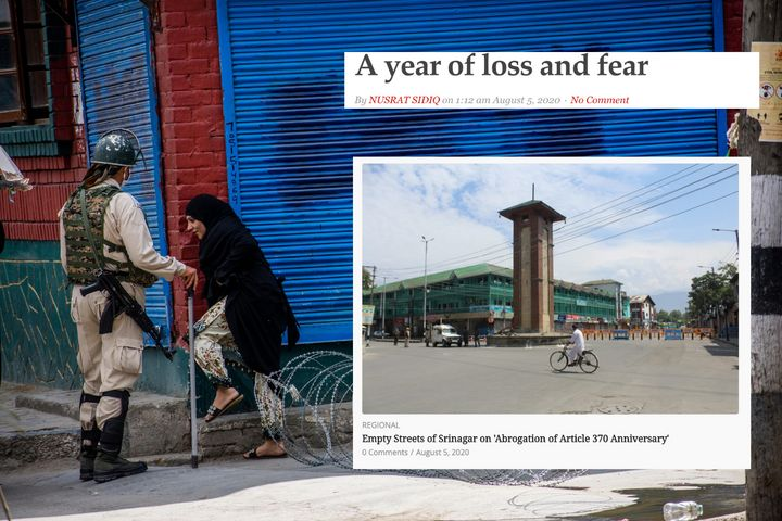 Kashmir, a year after abrogation of Article 370