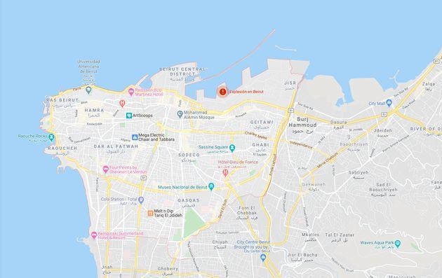 Mapa de situación de la