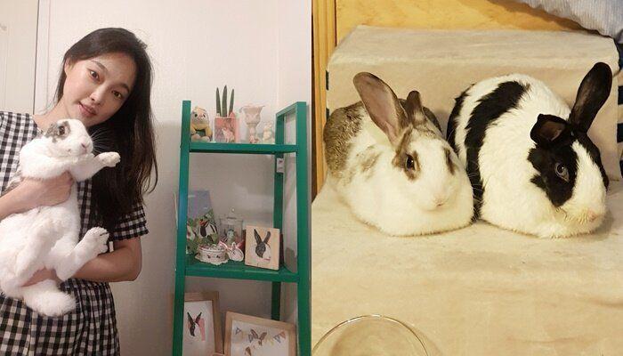 토끼 집사 이순지씨와 햇살이, 랄라
