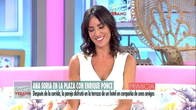 La reacción de Patricia Pardo tras un reportaje de Enrique Ponce y Ana