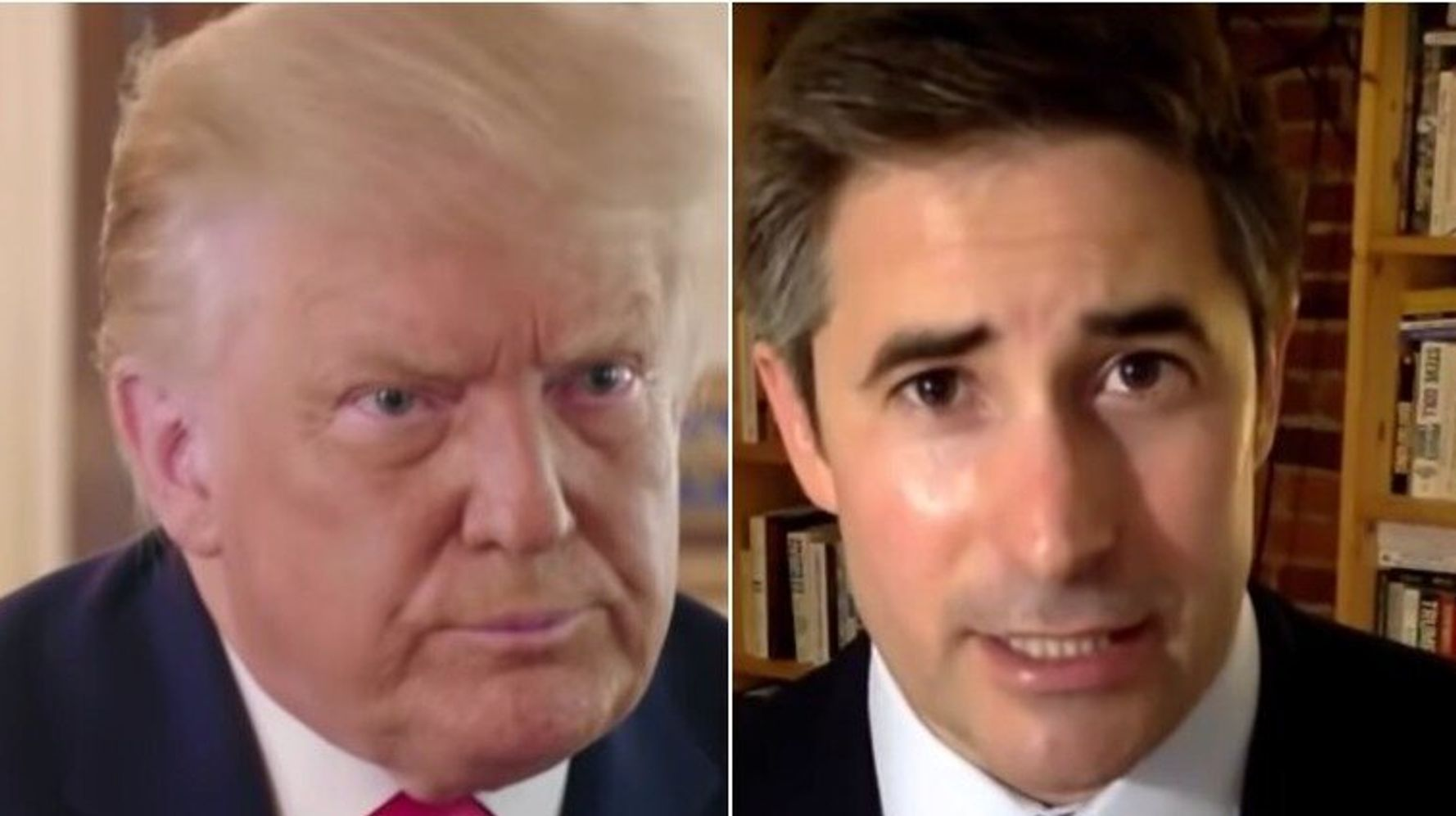 Jonathan Swan Names The Most 'Stunning' Moment Of His Wild Trump Interview