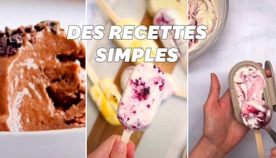 5 recettes de glace maison avec très peu d'ingrédients à tester pendant la