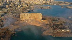 Η έκταση της καταστροφής στη Βηρυτό σε βίντεο από