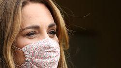 Kate Middleton elige una firma española en su primera vez con mascarilla: dónde comprarla y cuánto