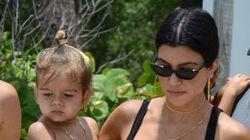 Kourtney Kardashian Reveals Son Reign's New Haircut: 'I Am Not