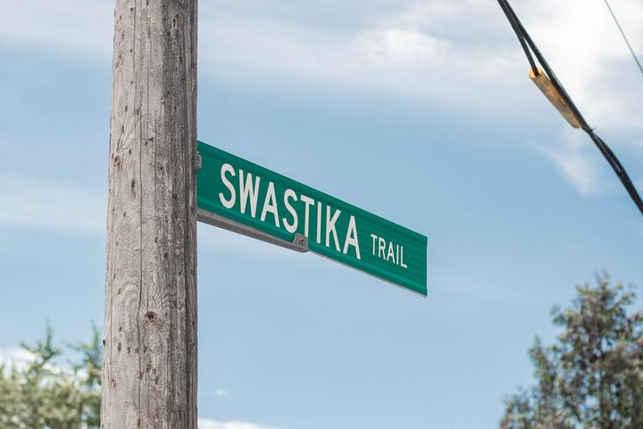 Swastika Trail received its name in the 1920s.