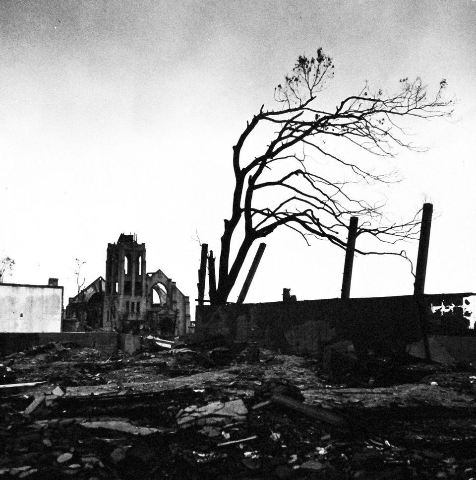 As cenas de Hiroshima após a bomba impactaram o