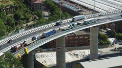 Il ponte è aperto: il volo del drone sulle auto che percorrono il Genova San Giorgio