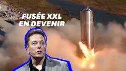 Starship, la fusée habitée de SpaceX qui ira sur mars, effectue son premier