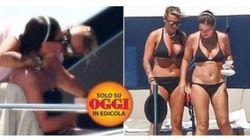 Francesca Pascale bacia Paola Turci: la foto della coppia paparazzata sullo