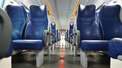 Il Cts conferma la distanza di un metro sui treni. Capienza al 50% anche per i