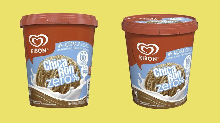 Kibon lança Chicabon Zero Açúcar.