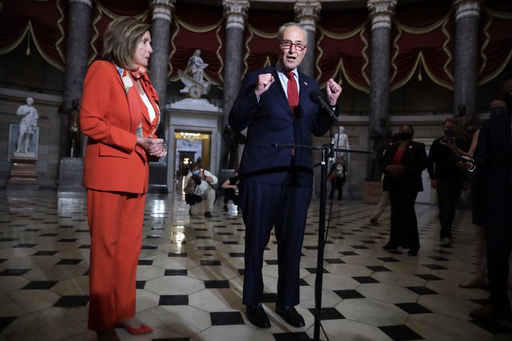 Congressional leaders are sounding more pessimistic about reaching a deal on another round of coronavirus relief. (Photo by A