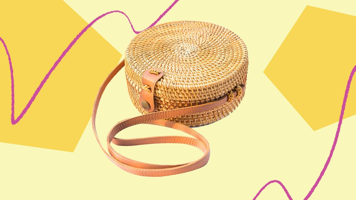 Would Recommend: An Amazon Rattan Bag Our Editor Can't Stop Raving About