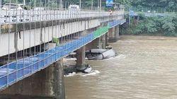 춘천 의암댐에서 선박 3척이 전복돼 7명이