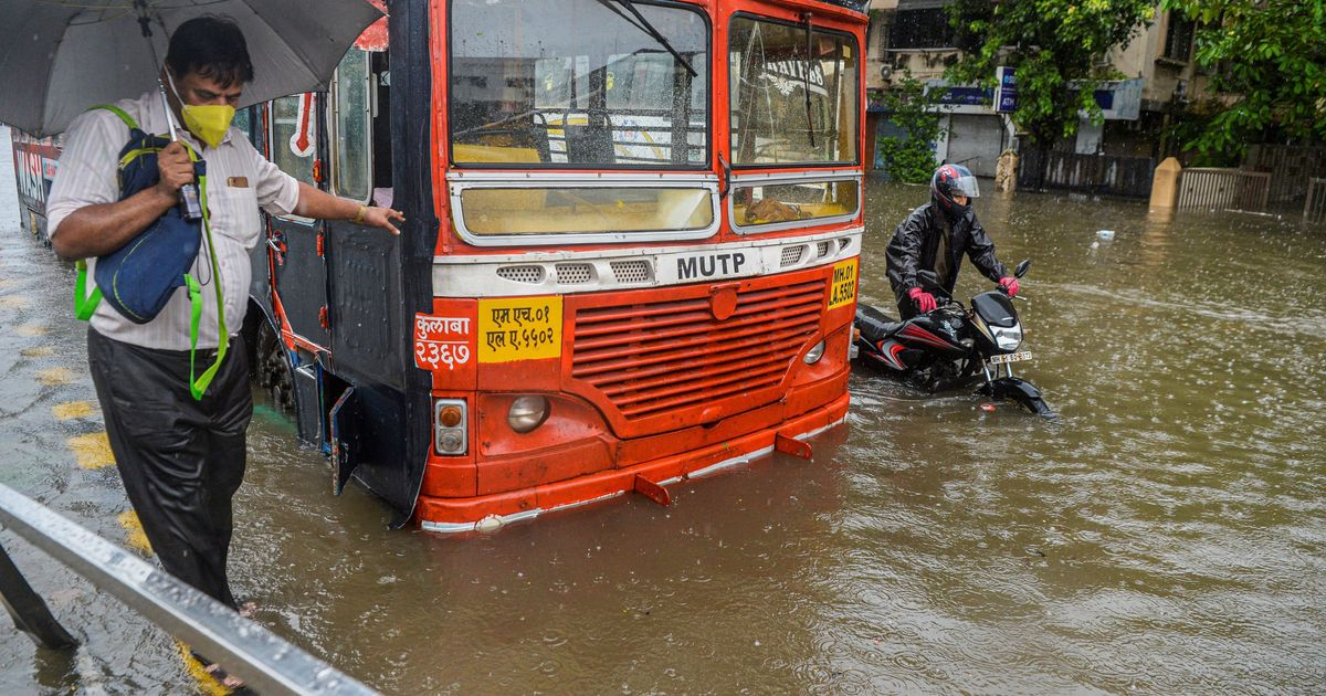 Mumbai: IMD Warns Of Moderate To Heavy Rainfall, South Mumbai Areas Waterlogged