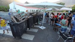 Barricadas en Gran Canaria para evitar el alojamiento de migrantes en