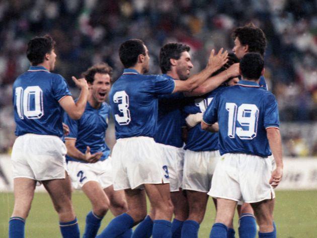 La nazionale italiana allenata da Azeglio