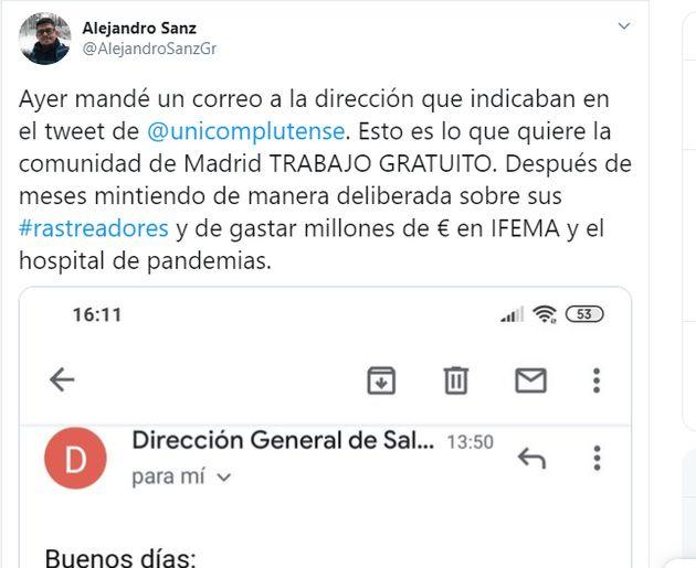 La respuesta de la Comunidad de Madrid a un