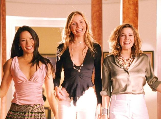 Cameron starred in Charlie's Angels alongside Lucy Liu and Drew