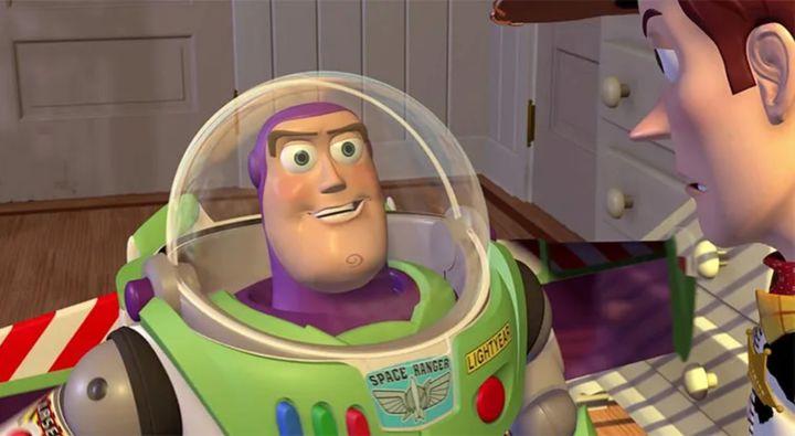 Buzz Lightyear, en una de las películas de 'Toy Story'.